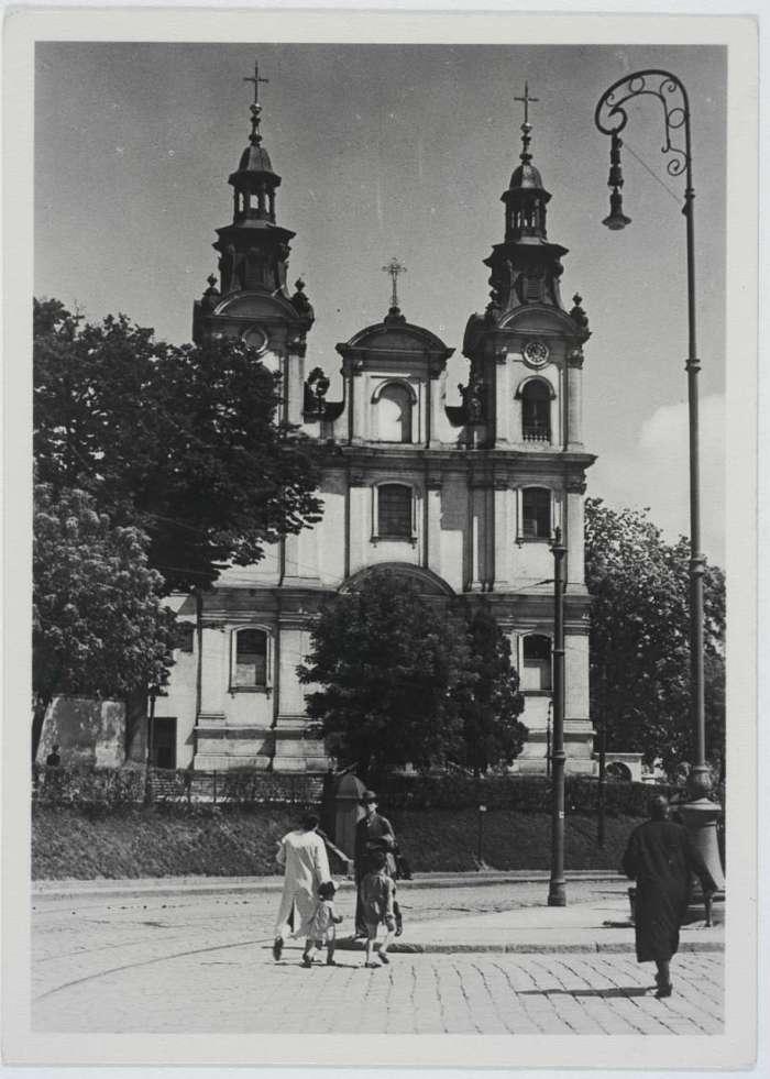 Костел Святої Марії Магдалени. Фото до 1939 року