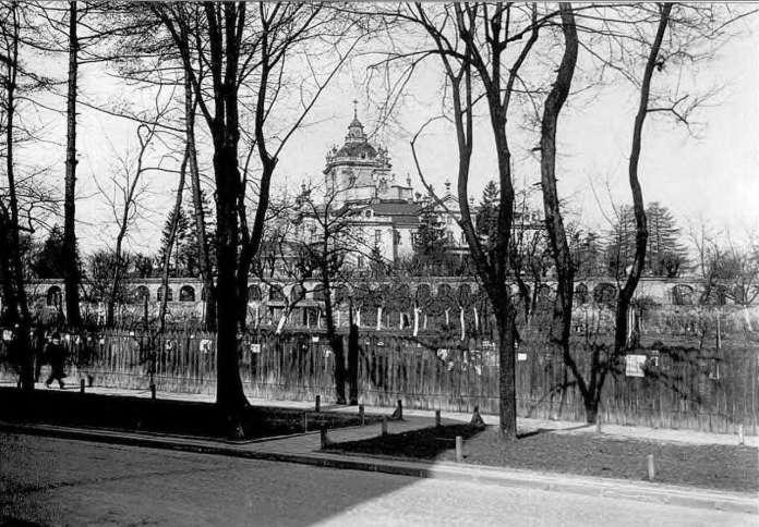 Сади Святого Юра. Фото 1920-х років