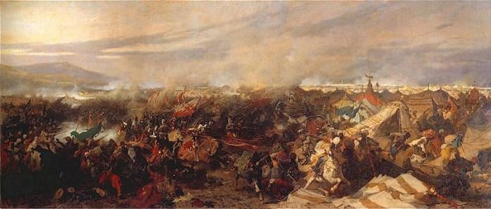 «Битва під Віднем», (1863) Юзеф Брандт, музей Війська польського у Варшаві.