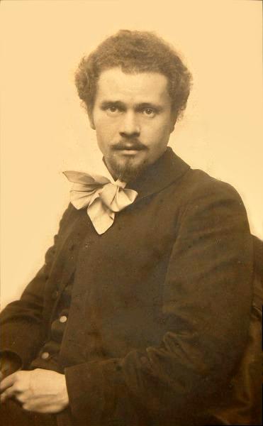 Іван Труш у роки навчання в Краківській академії мистецтв