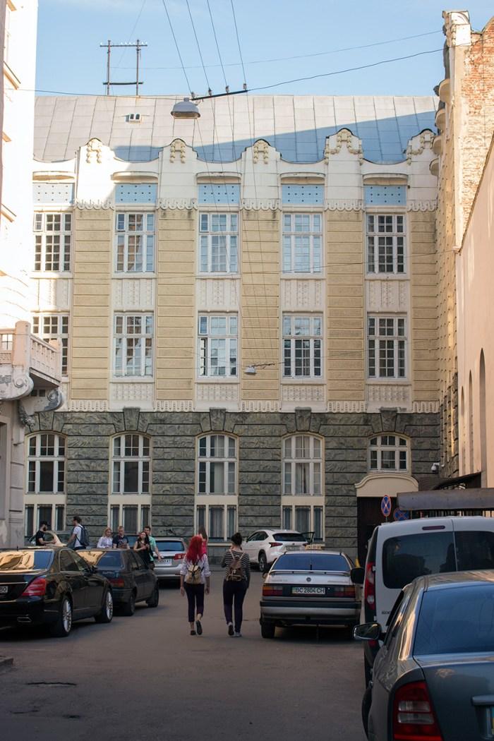 Вулиця Остапа Нижанківського у Львові