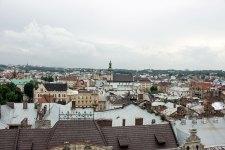 Панорама Львова з Вежі Корнякта