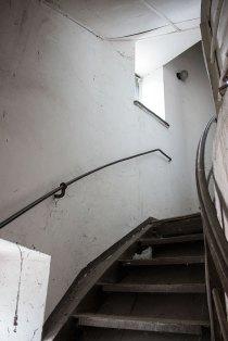 Водонапірна вежа на вулиці Тернопільській у Львові всередині, фото червень 2015 року