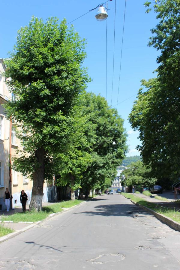 Вулиця Морозенка у Львові. Фото 2015 року