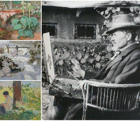 Розкішний сад Івана Труша - джерело натхнення маестро