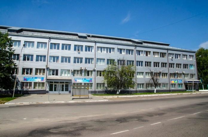 Будівля протезного заводу.