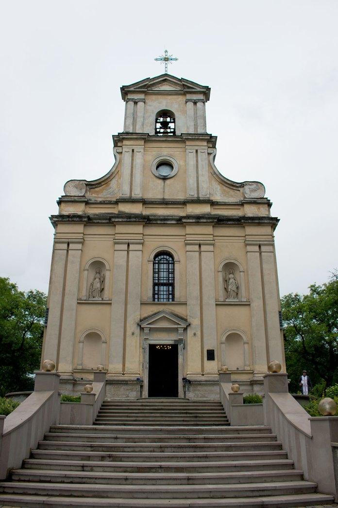 Фасад храму Св. Софії фото 2015 р.