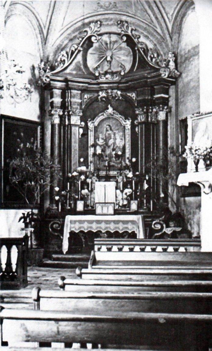 Вівтар костелу Св.Софії 1939 р.