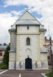 Вірменський монастир Св. Хреста, де розміщувалася Папська колВірменський монастир Св. Хреста, де розміщувалася Папська колегія до 1740-х рр.егія до 1740-х рр.