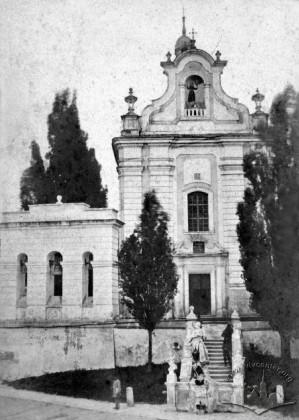 Костел святого Антонія, 1860-1870 роки