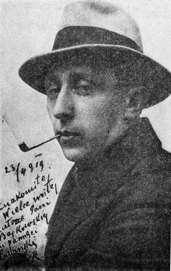 """Людвік Лавінський (1887-1971) - актор, режисер, комік, один з співзасновників кабаре """"Вулик"""" у Львові"""