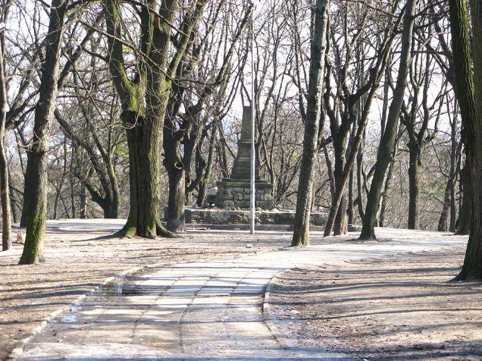 Гора Страт (або Гицлівська), де відбувалось більшість львівських страт