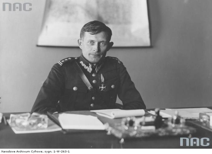 Бригадний генерал польської армії Владислав Лангнер