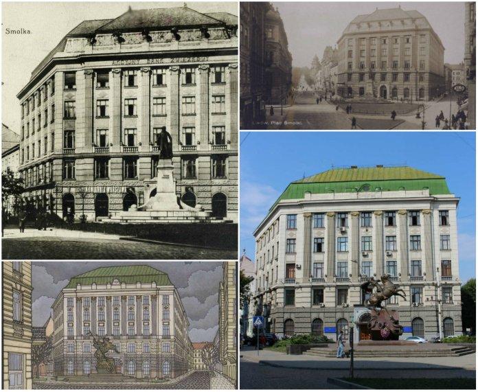Банк, кав'ярня, кінотеатр та ...Управління міністерства внутрішніх справ