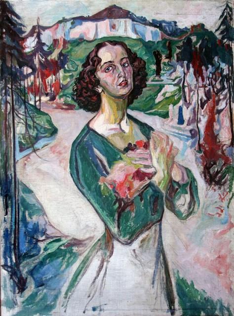 Олекса Новаківський. Портрет Галини Голубовської. 1930 р.