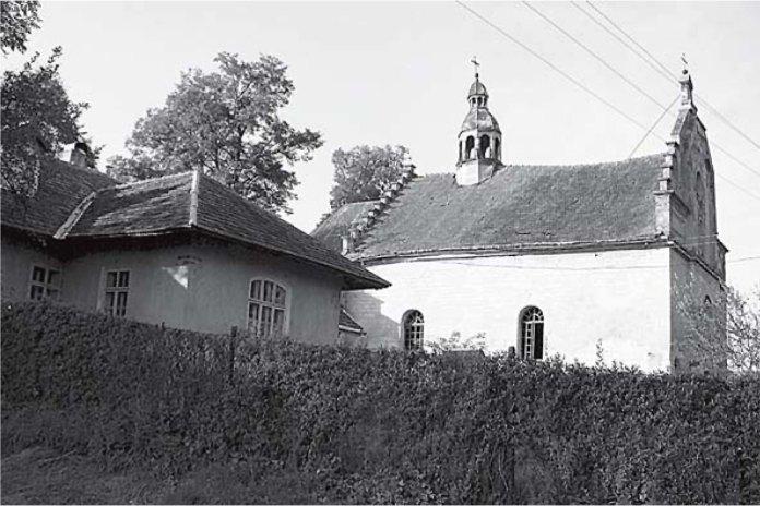 Костел Святого Валентина та плебанія в Раковці