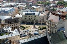 Панорама Львова з Львівської Ратуші