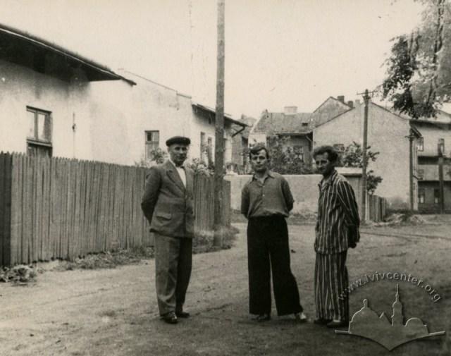Львів, Підзамче. Вулиця Діаманда, фото 1956-1957 років