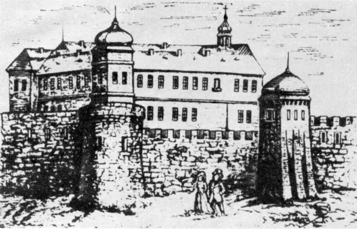 Львів. Низький замок (кінець XVIII ст.)