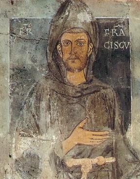 Найстаріше із відомих зображень Франциска, створене ще за його життя
