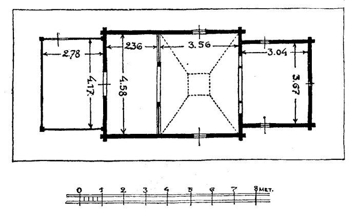 Січинський В. План церкви в с. Сихові, 1925 р.