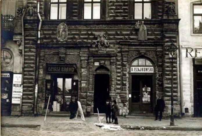 Вигляд Чорної кам'яниці у 1900-1914 роках ( фото з сайту karta.org.pl/)