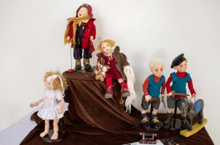 """Ляльки представлені на фестивалі """"Ляльковий світ"""" Lady&Teddy"""
