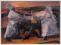 """Тарас Носар """"Сімейна розмова"""", 2000"""