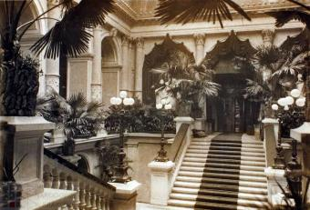 Хол Галицького Сейму, фото 1903 року