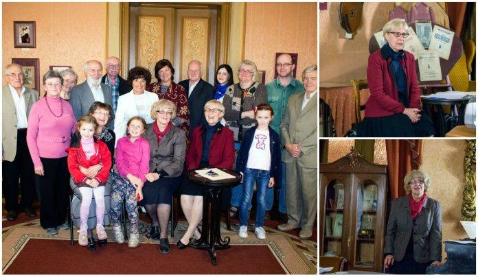 Зустріч присвячена родині Цегельських в музичному салоні