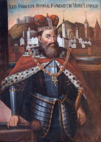 Портрет короля Лева Даниловича, автораства Луки Долинського