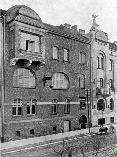 Фірма Желєнського у Кракові, фото 1910 року