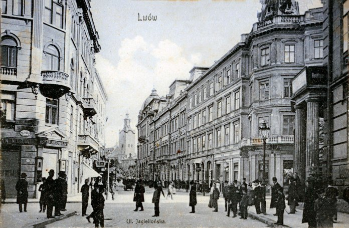 вул. Ягеллонська, 1908 рік