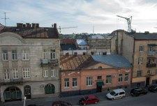 Панорама Львова з торгового центру Форум Львів, фото 2015 року