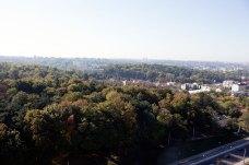 Панорама з дзвіниці церкви Покрову Пресвятої Богородиці (кол. костел Матері Божої Остробрамської)