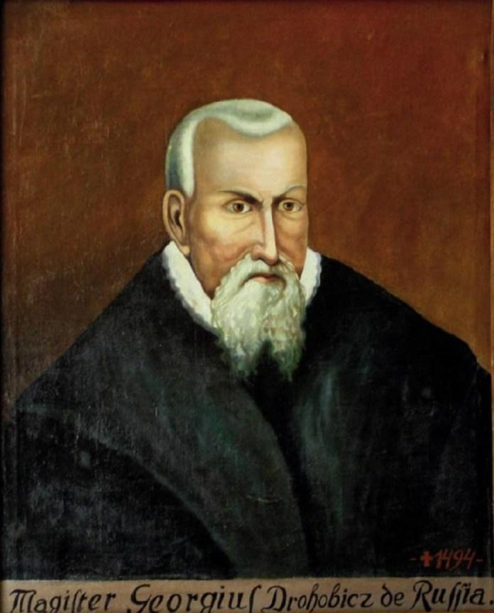 Юрій Дрогобич (1450 - 1494 рр.)