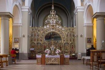 Інтер'єр Церкви св. Йосафата у Львові, 2015рік