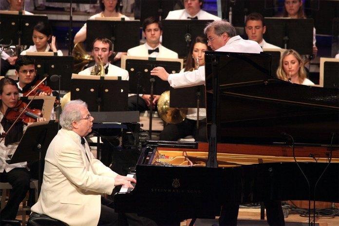 Емануель Акс. Фото Anastasia Tsioulcas з концерту в Бостоні, 2012 рік
