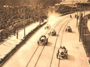 Перегони по вулицях Львова. Вулиця Пелчинського (Вітовського). Фото 1930-1933 рр.
