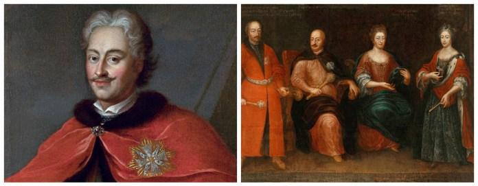 та Марія-Зофья Сенявська (крайня праворуч на другому фото)