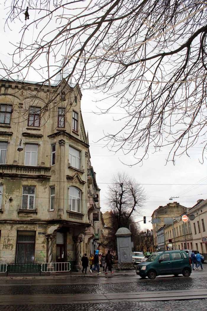 Сучасна вулиця Івана Франка у Львові (колишня вул. Панська)