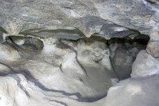 Інтер'єр печер ґроту Прийма