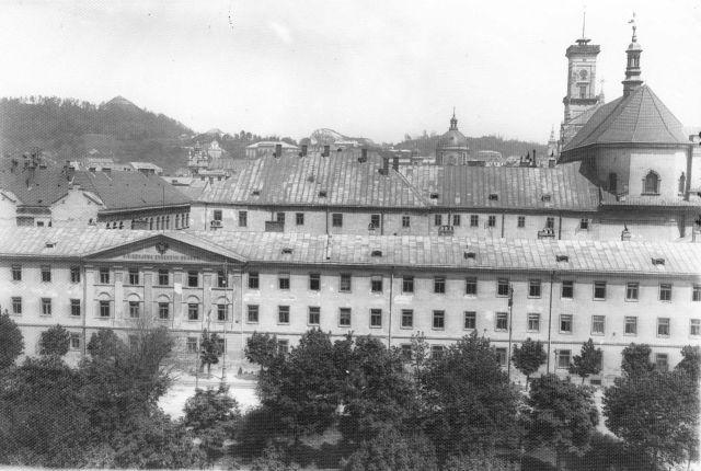 Львівський Колегіум єзуїтів на початку ХХ століття