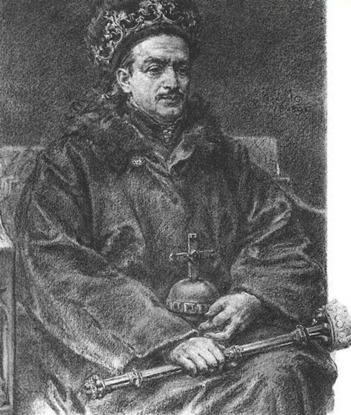 Король Речі Посполитої Казимир IV, один з вихованців Гжегожа з Сяноку