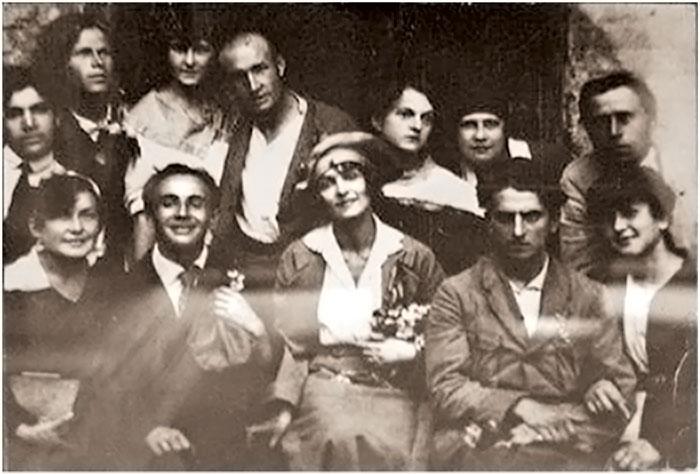 Весілля Леся Курбаса та Валентини Чистякової (Київ, 1919 р.)