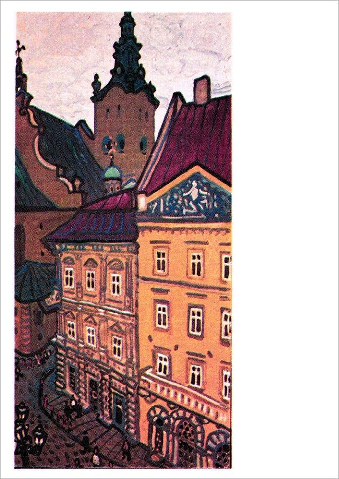Львів. Куточок старого міста. Автор Юрій Химич