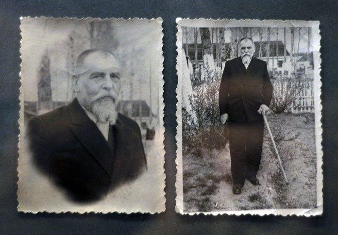 Йосип Сліпий на засланні. У руці – «посох Патріарха». Фото з архіву Ярини Федьків