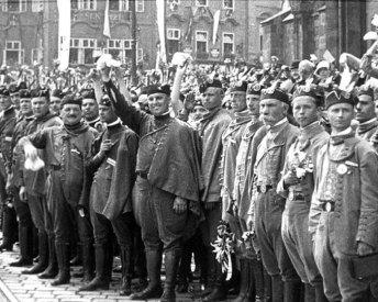 «Сокільський» парад в Празі 1926р