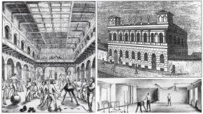 Соколівня - тренажерний зал для соколят (створена Войтехом Ульманом в 1863)