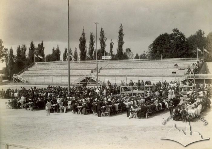 Перший львівський міський стадіон, фото 1894 року.